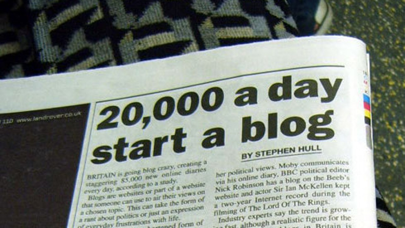 Nicht entmutigen lassen: Ihr Blog ist Ihr Blog!