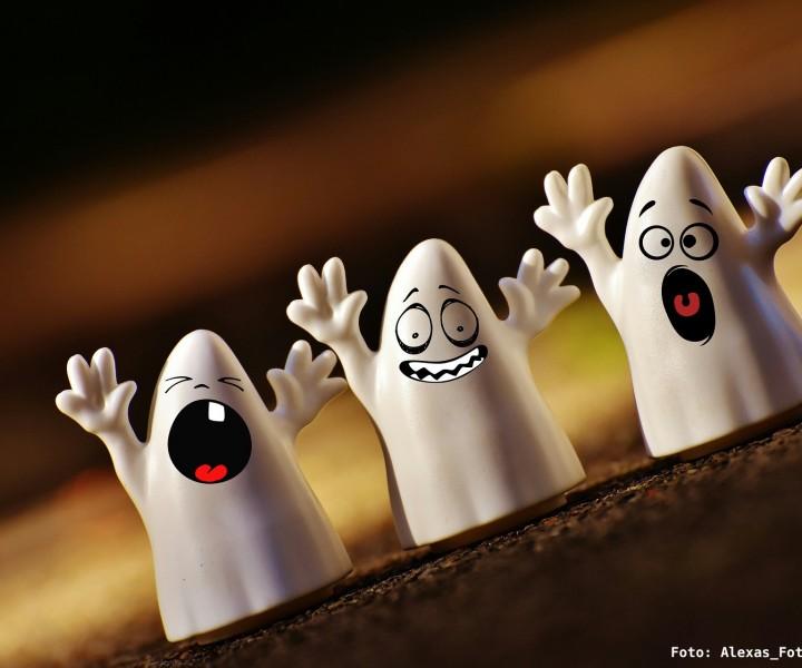 Geschichten von kleine Geistern sind spannend...